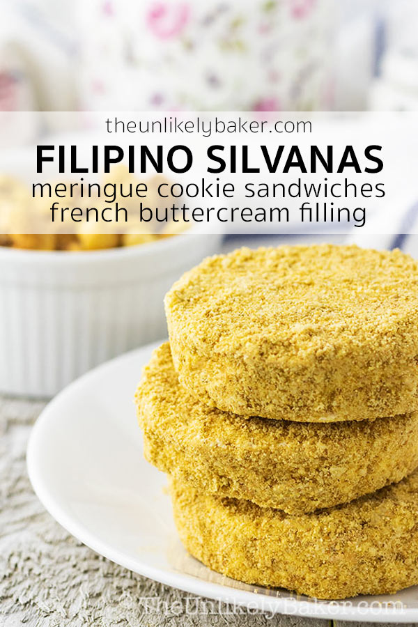 Silvanas Recipe - How to Make Philippine Sylvanas Cookies
