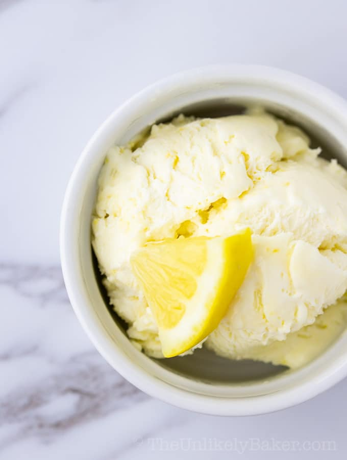 Lemon Curd Ice Cream Recipe