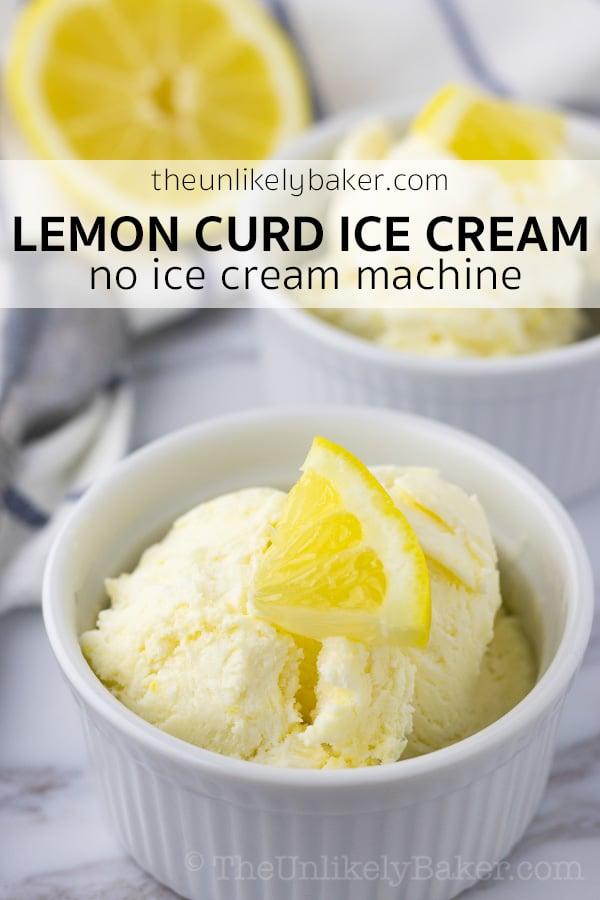 Lemon Curd Ice Cream Recipe