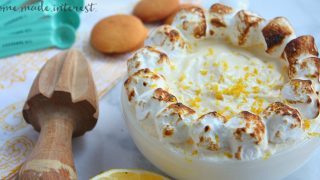 No Bake Lemon Meringue Dip