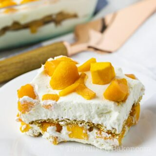 Mango Graham Cake - Filipino Mango Float Recipe