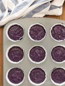 How to make ube cupcake recipe