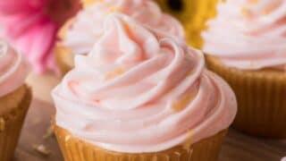 Homemade Grapefruit Cupcakes
