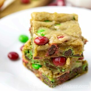 MM Cookie Bars
