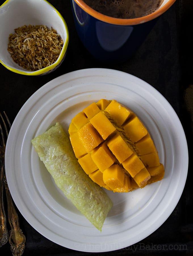 Suman with Mango