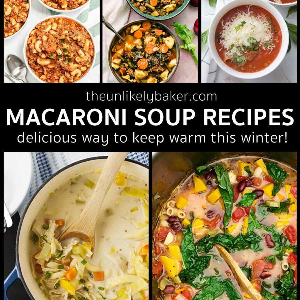 Macaroni Soup Recipes