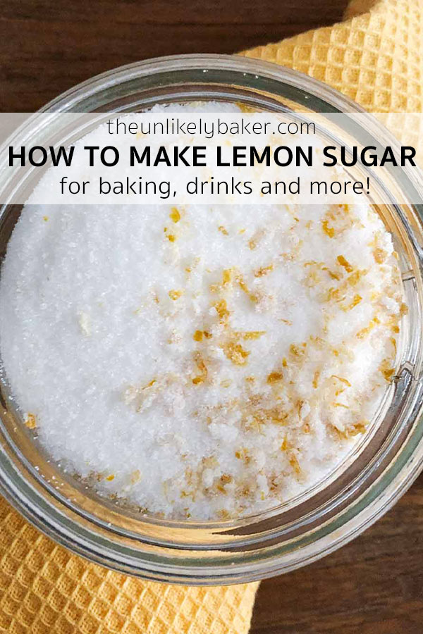 How to Make Lemon Sugar