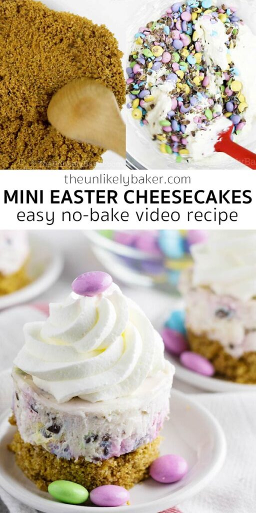 No-Bake Mini Easter Cheesecakes Recipe