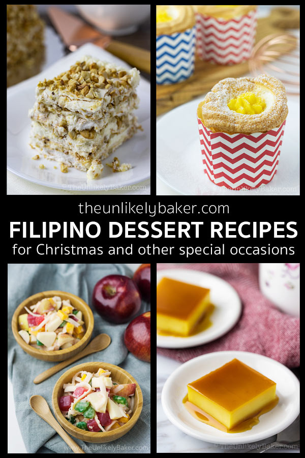 Filipino Dessert Recipes for Christmas and Other Special Occasions