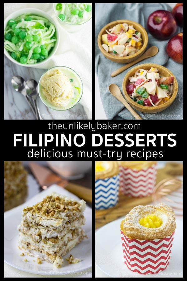 Filipino Dessert Recipes You Must Try