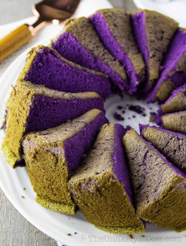 Ube Chiffon Cake Recipe
