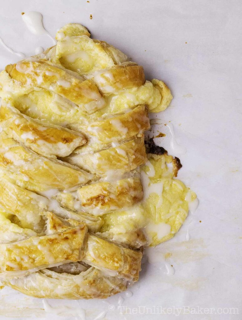 Lemon Cream Cheese Puff Pastry
