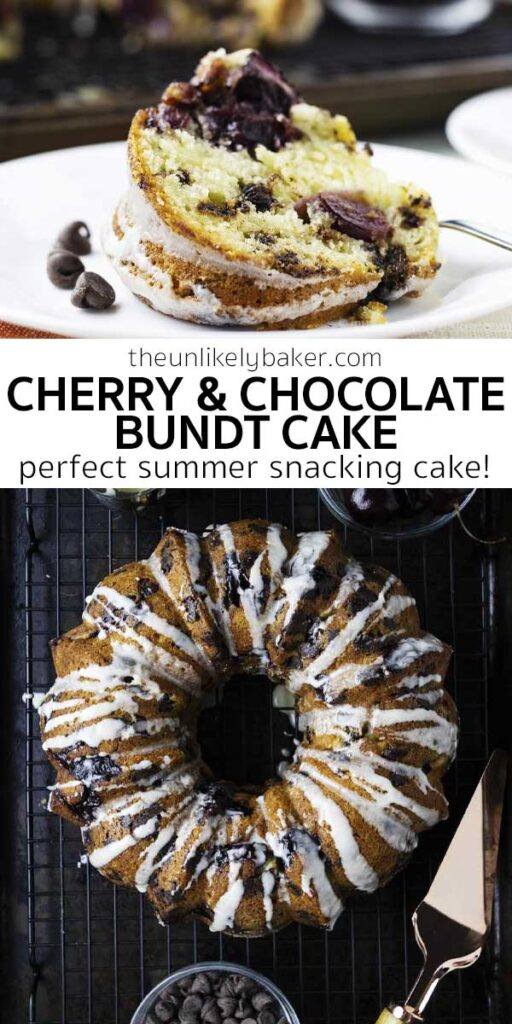 Chocolate Cherry Bundt Cake