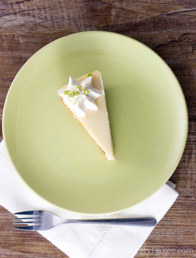 Eggless Key Lime Pie