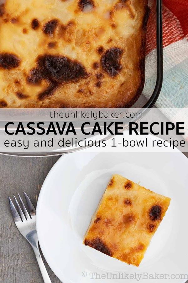 Filipino Cassava Cake with Macapuno Recipe