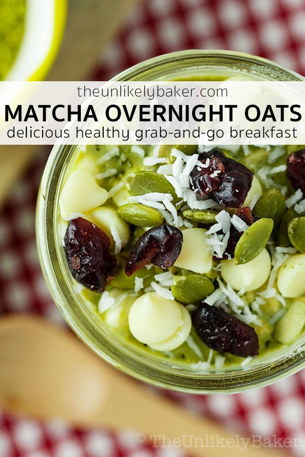 Matcha Overnight Oats