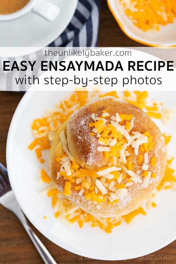 Easy Ensaymada Recipe with Step-by-Step Photos