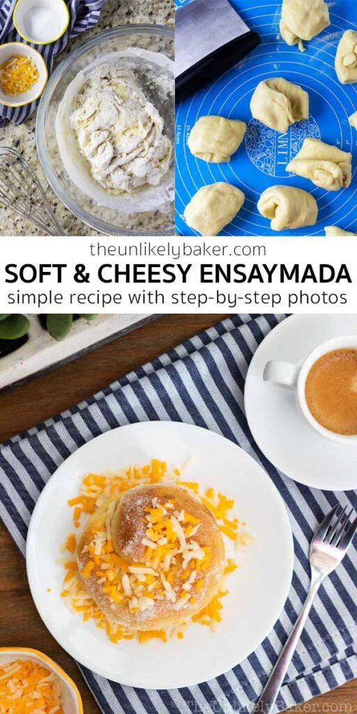Soft and Cheesy Ensaymada