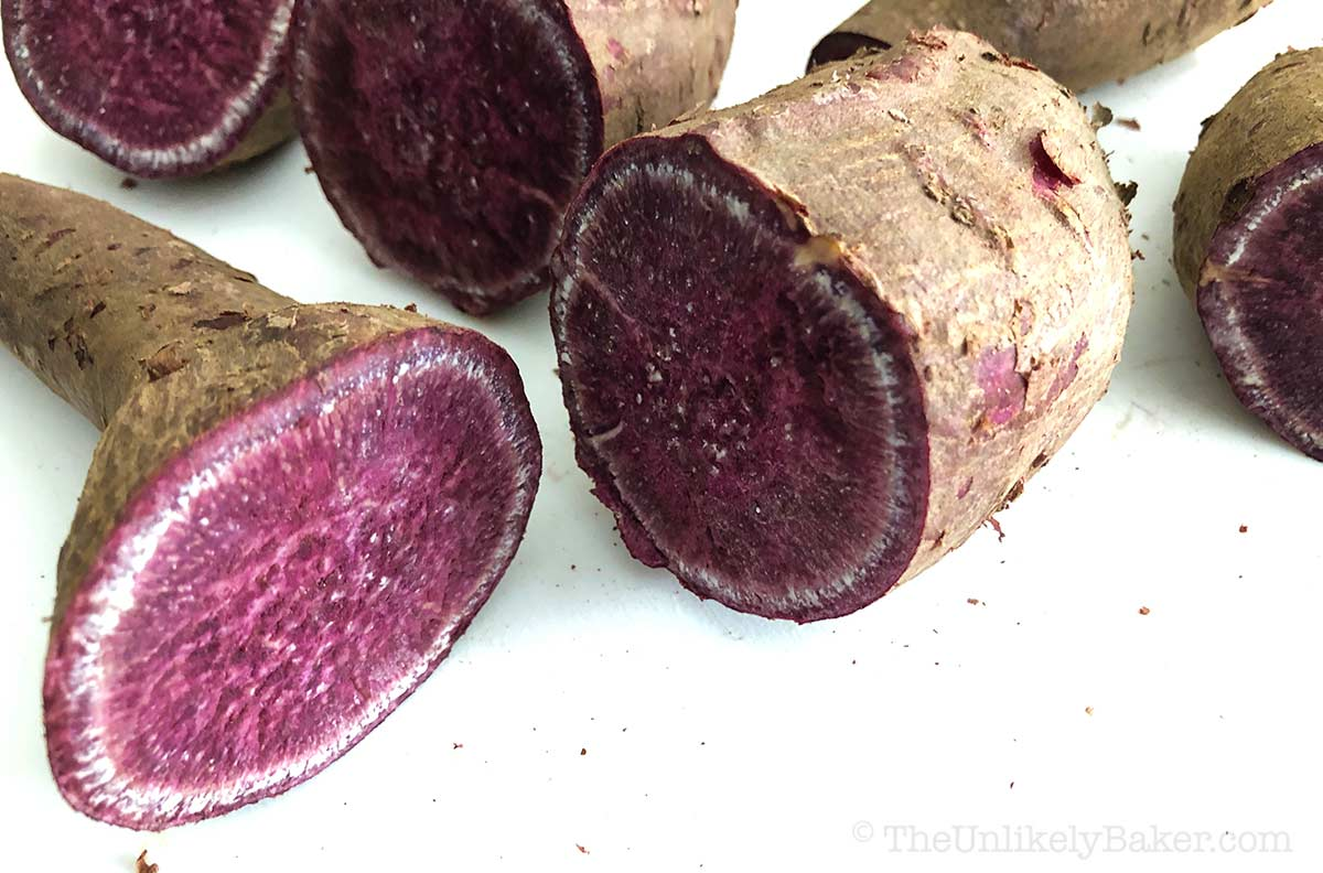 How to Cook Fresh Ube