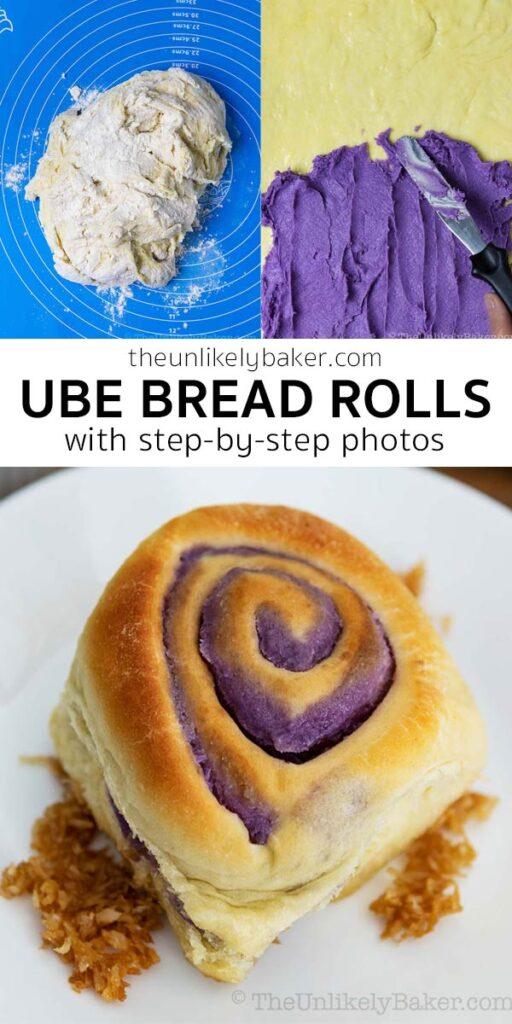 Easy Ube Bread Recipe
