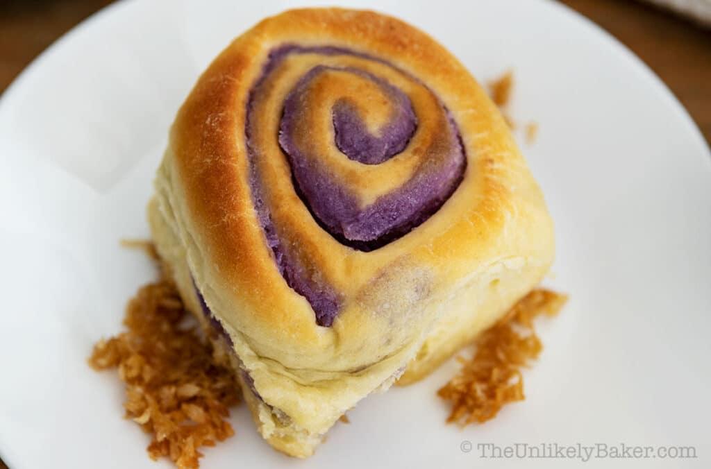 Ube Bread Rolls