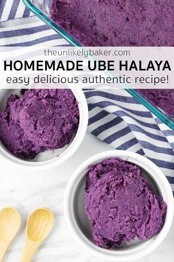 Homemade Ube Halaya