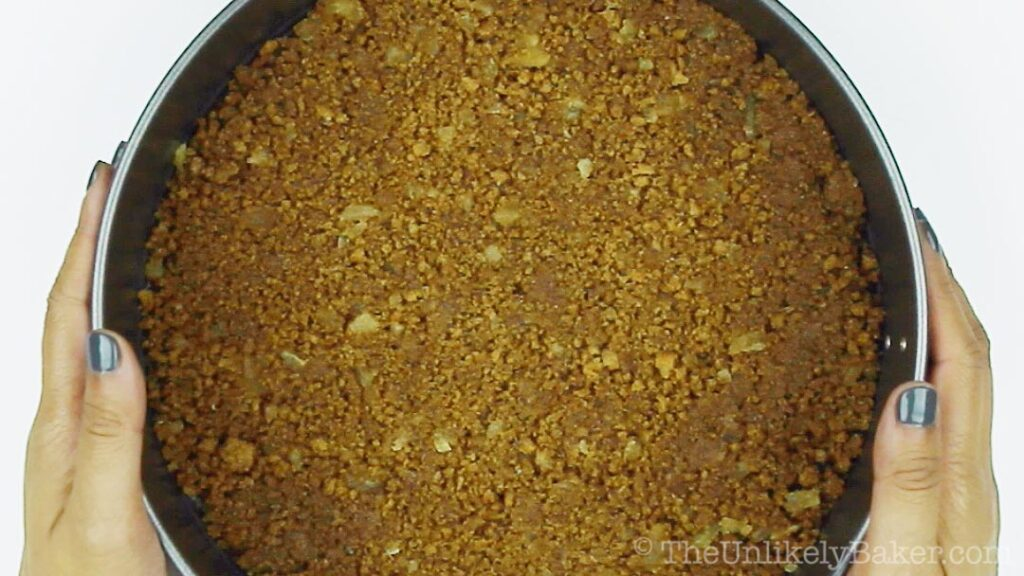 How to Make Gingersnap Crust