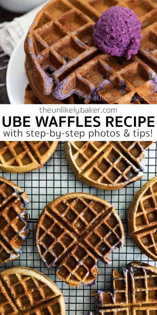 Easy Ube Waffles Recipe