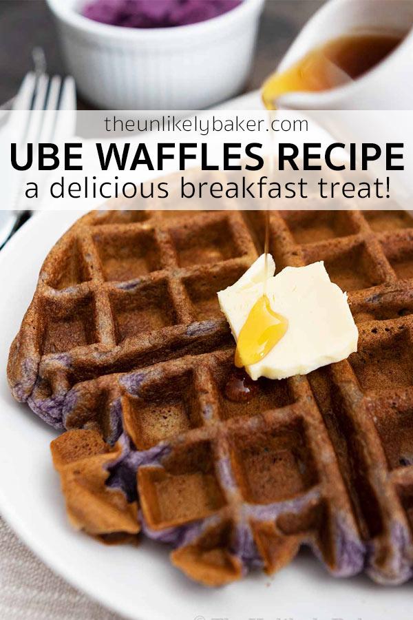 Delicious Ube Waffles Recipe