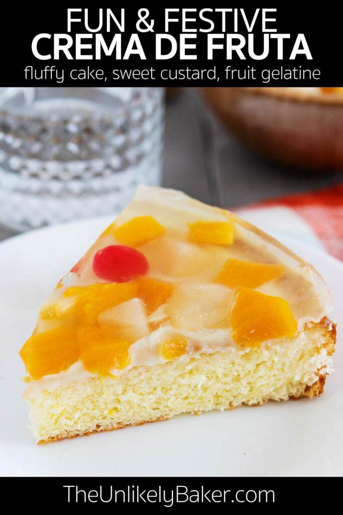 Filipino Crema de Fruta