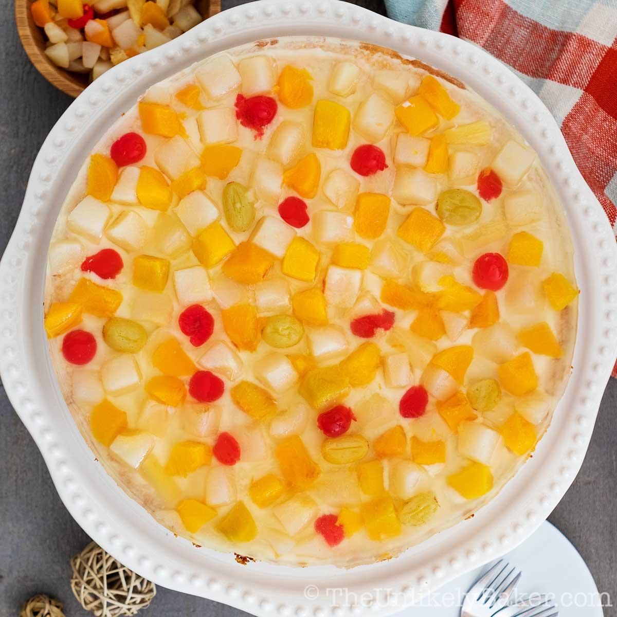 Filipino Crema de Fruta Recipe
