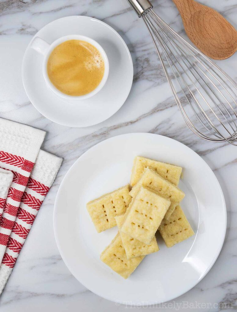 Buttery Shortbread Cookies - Easy No-Fail Recipe
