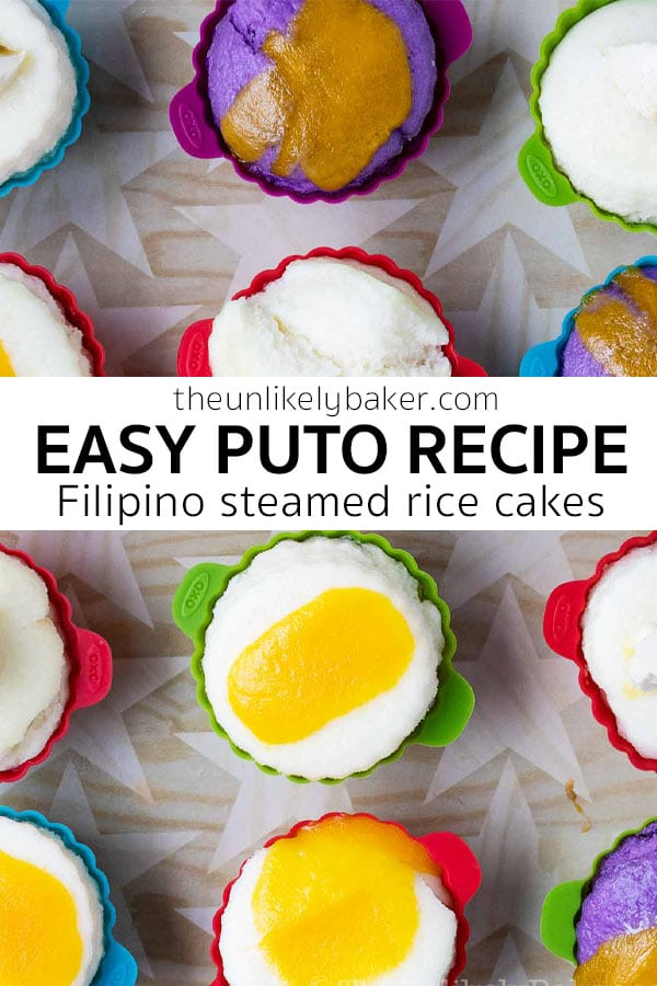 Easy Puto Recipe (Filipino Steamed Rice Cakes)