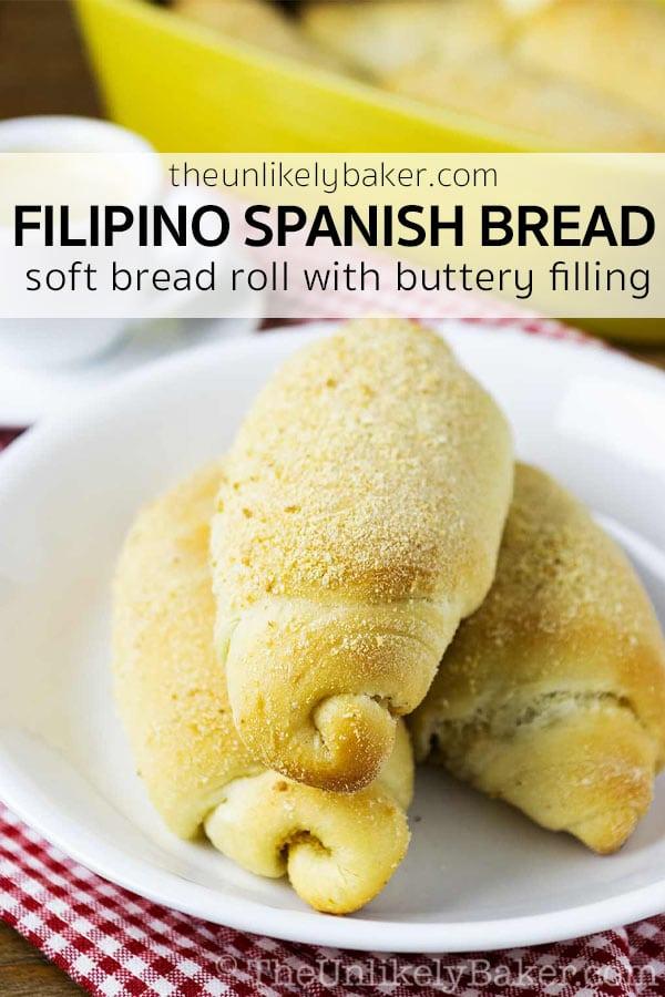 Filipino Spanish Bread Recipe