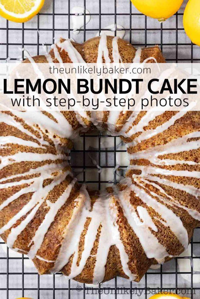 Lemon Bundt Cake with Tangy Lemon Glaze