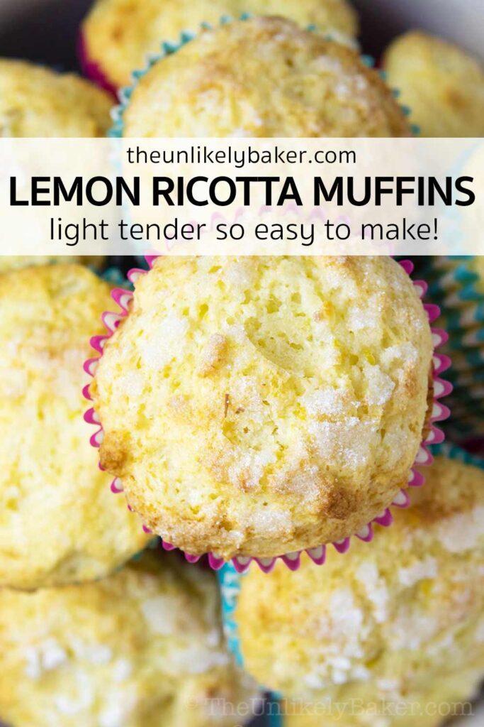 Lemon Ricotta Muffins Recipe (step-by-step photos)