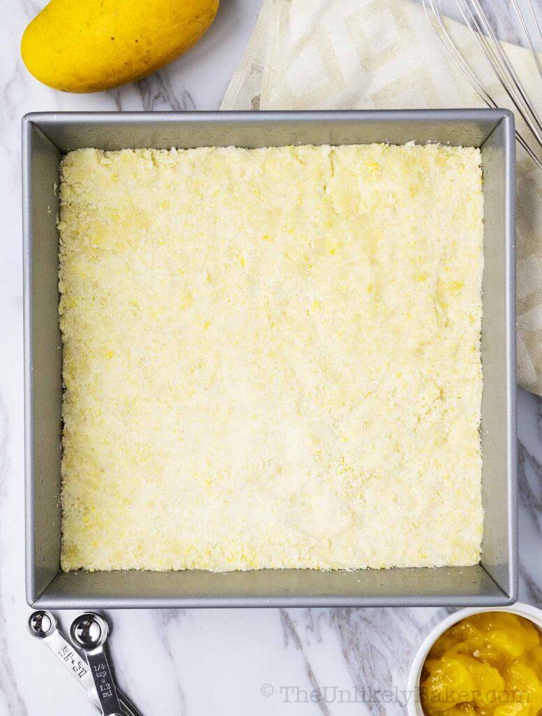 Shortbread crust
