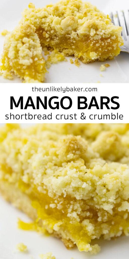 Easy Mango Bars Recipe