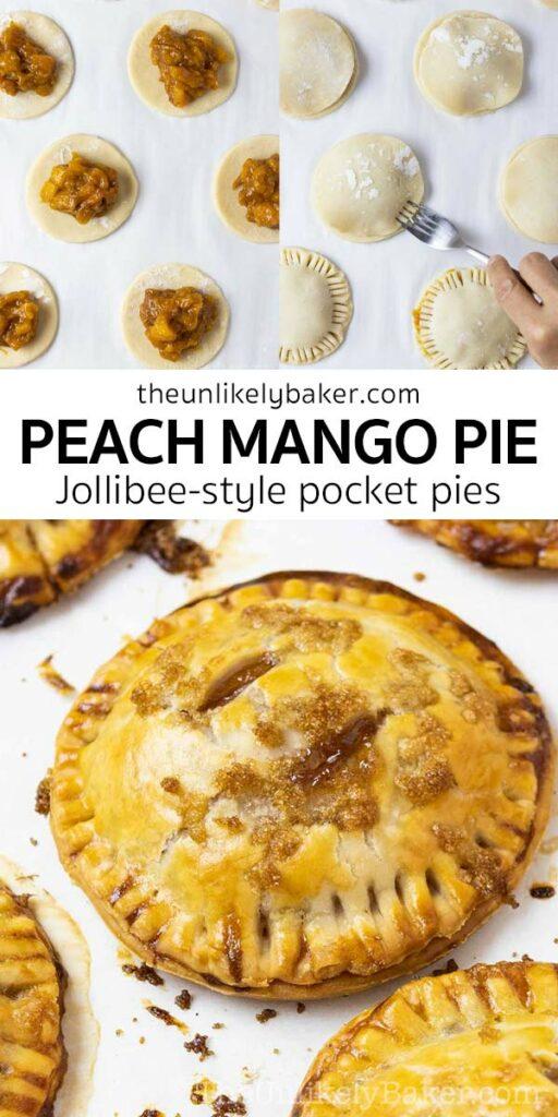 Peach Mango Pie (Jollibee-Style)