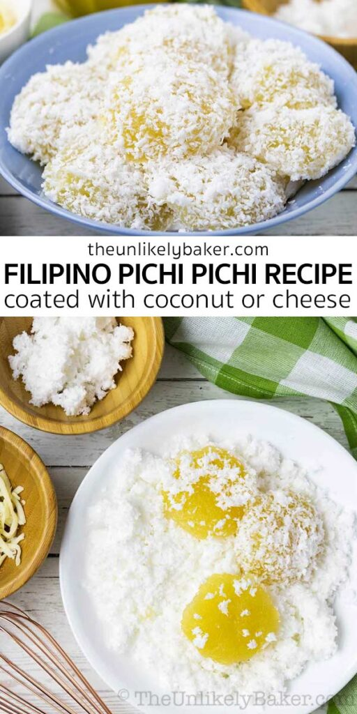 Easy Pichi Pichi Recipe (with step-by-step photos)
