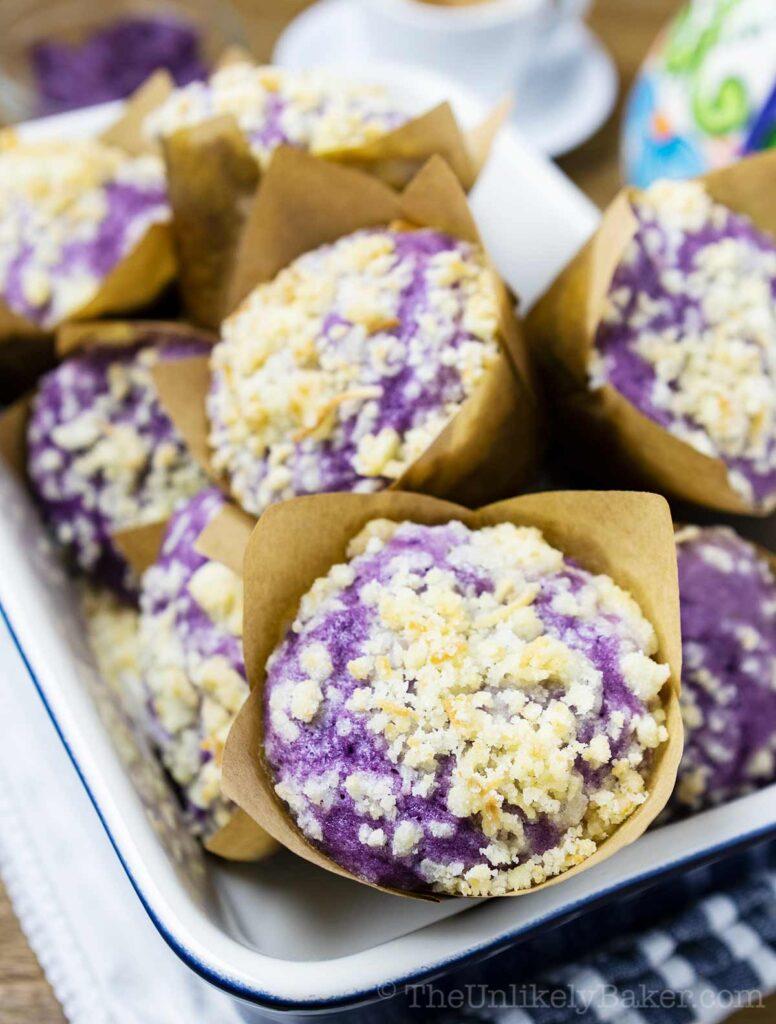 Ube Muffins Recipe