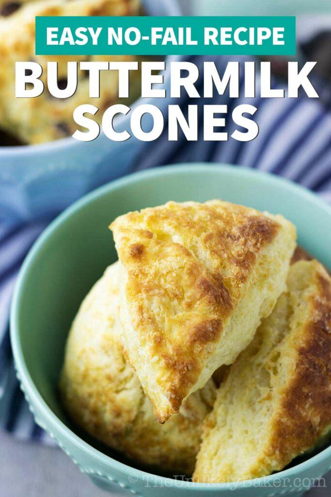 Classic Buttermilk Scones