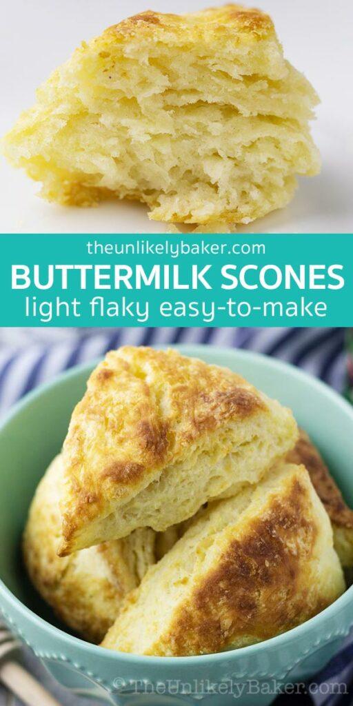 Quick and Easy Buttermilk Scones