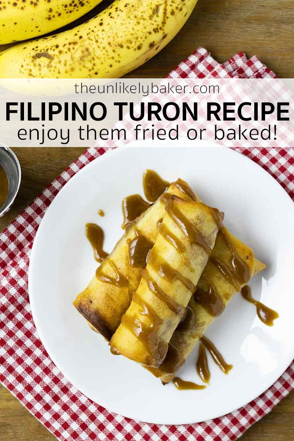 Filipino Turon Recipe