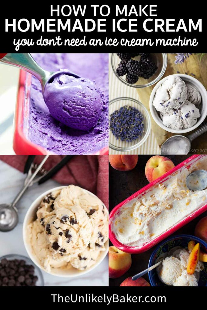 Making Homemade Ice Cream without a Machine