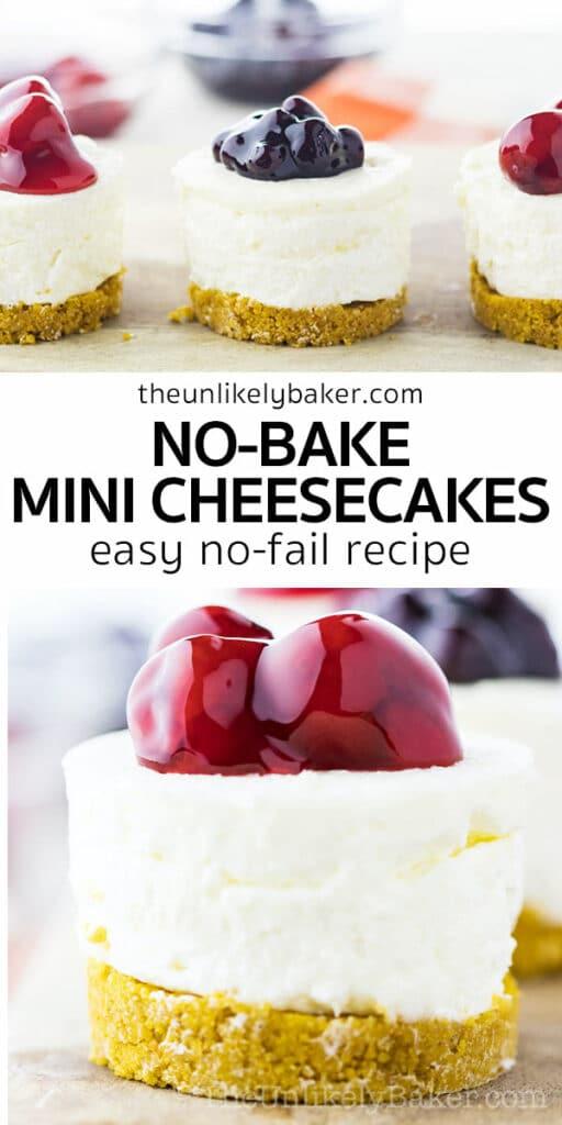 No Bake Mini Cheesecakes No-Fail Recipe