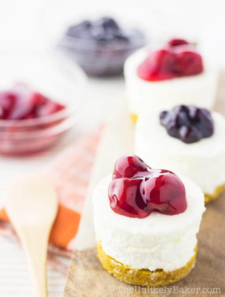 No-Bake Mini Cheesecakes Recipe