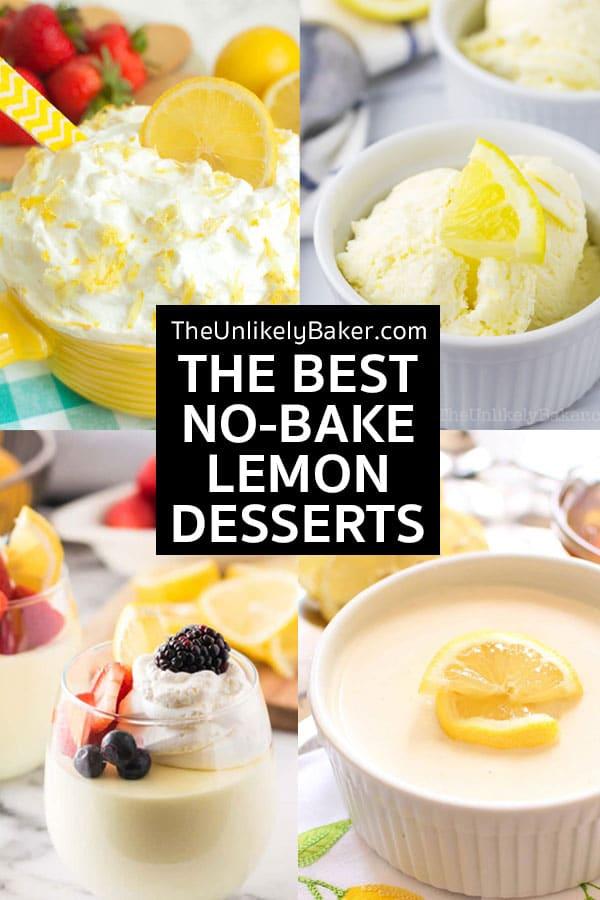 The Best No-Bake Lemon Dessert Recipes