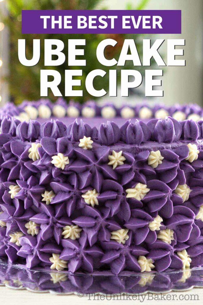 The Best Ube Cake Recipe