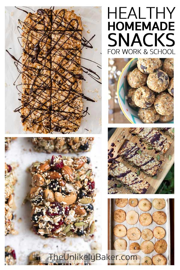 Recipes for Healthy Homemade Snacks - Perfect for Work and School